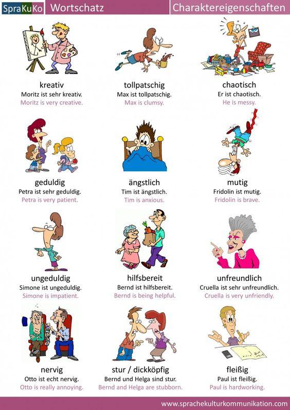 Charaktereigenschaften