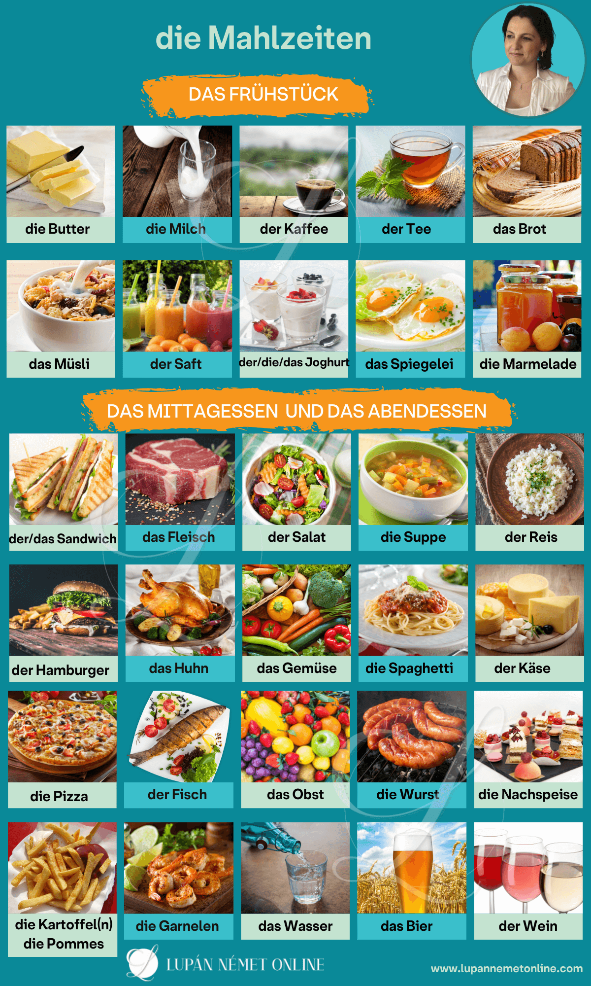 Mahlzeiten etkezesek