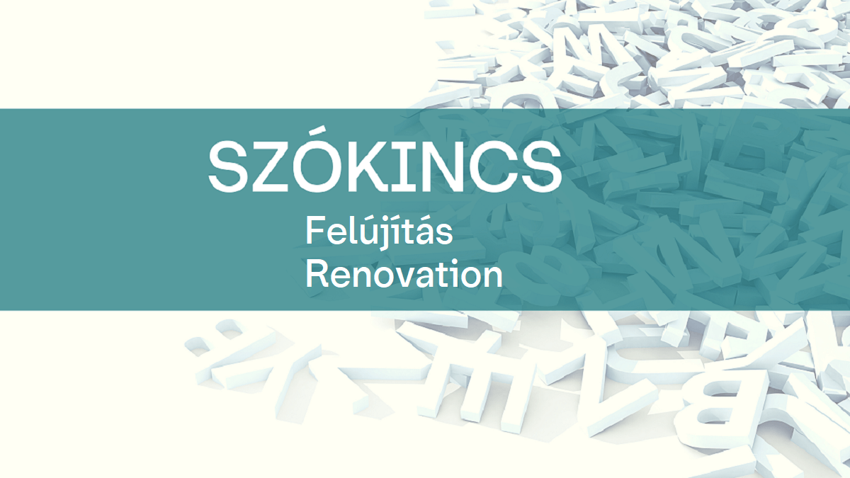 Szokincs Felujitas Renovation 1