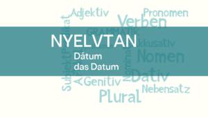 nyelvtan datum 1