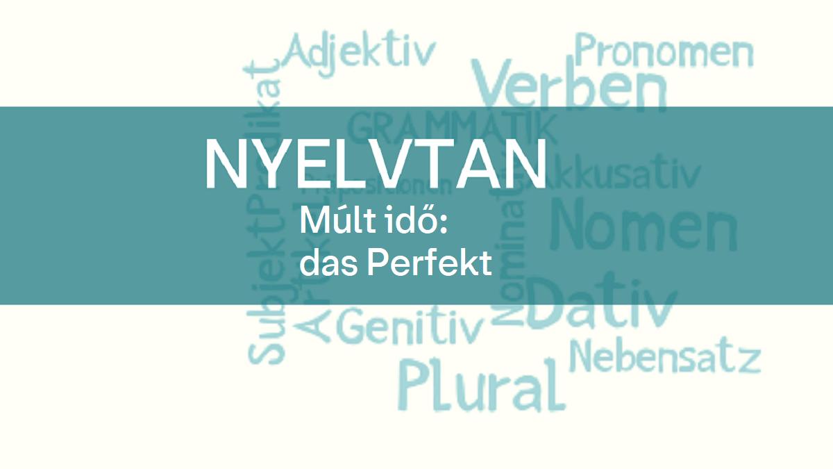 nyelvtan mult ido perfekt 1