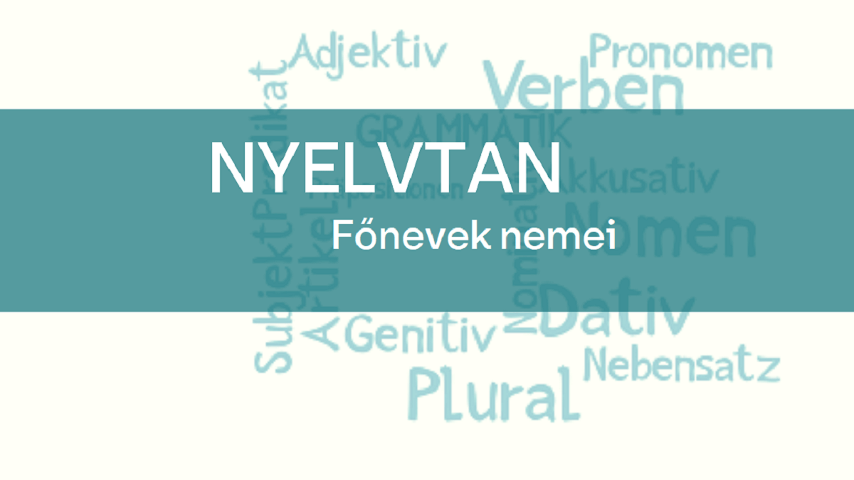 nyelvtan fonevek nemei 1