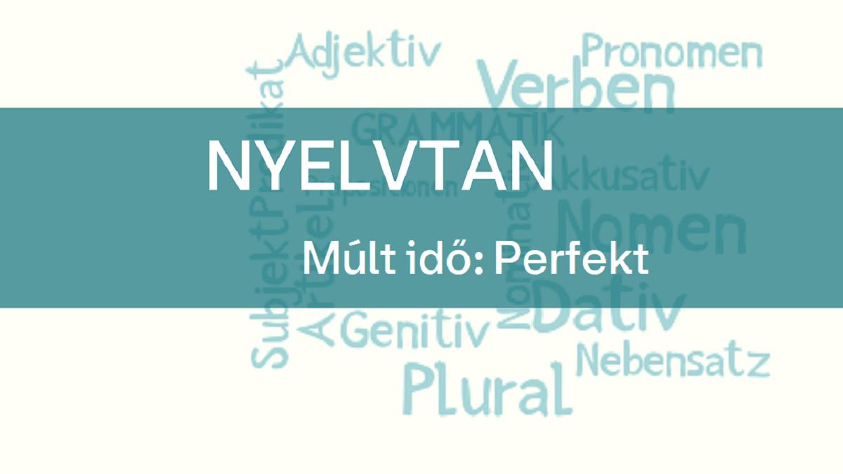 nyelvtan perfekt 1