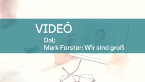 video Mark Forster Wir sind gros 1