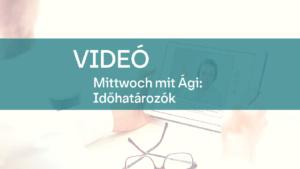 video Mittwoch mit Agi idohatarozok 1