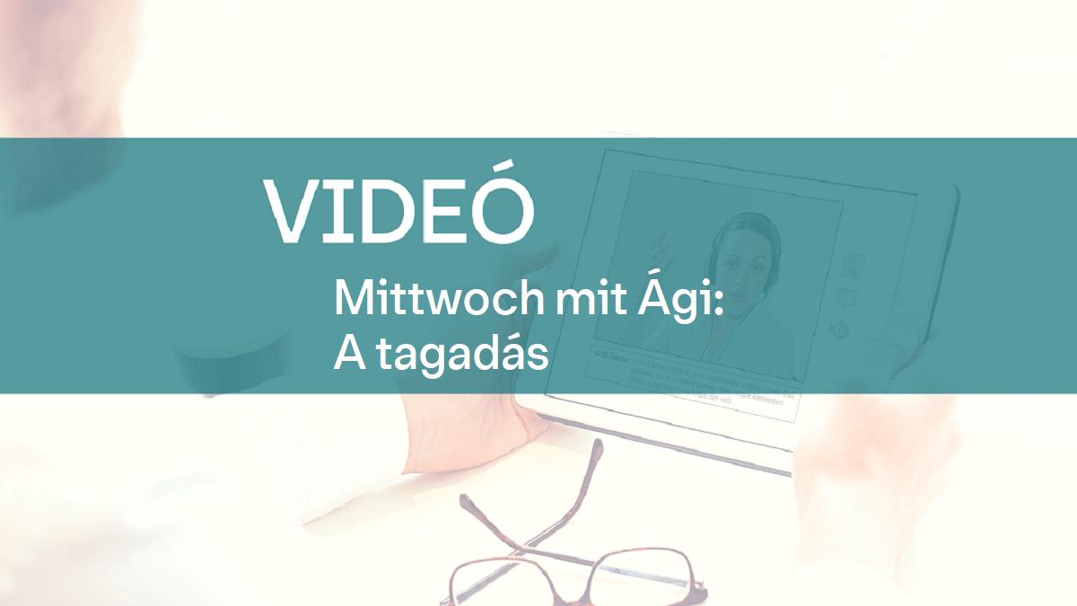 video Mittwoch mit Agi tagadas 1