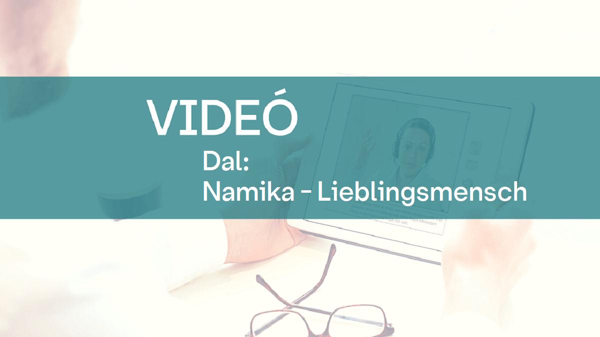 video dal Namika Lieblingsmensch 1